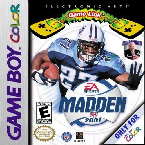 Madden NFL 2001 Game Boy Color