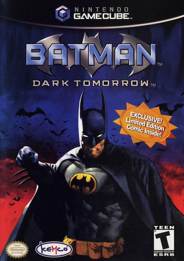 Batman Dark Tomorrow Gamecube Game