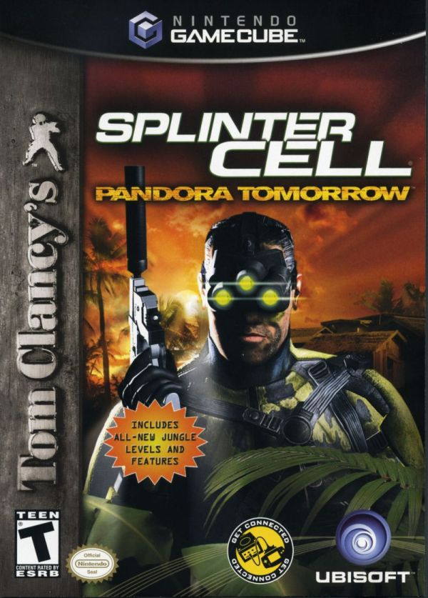 Splinter Cell Pandora Tomorrow Gamecube Game