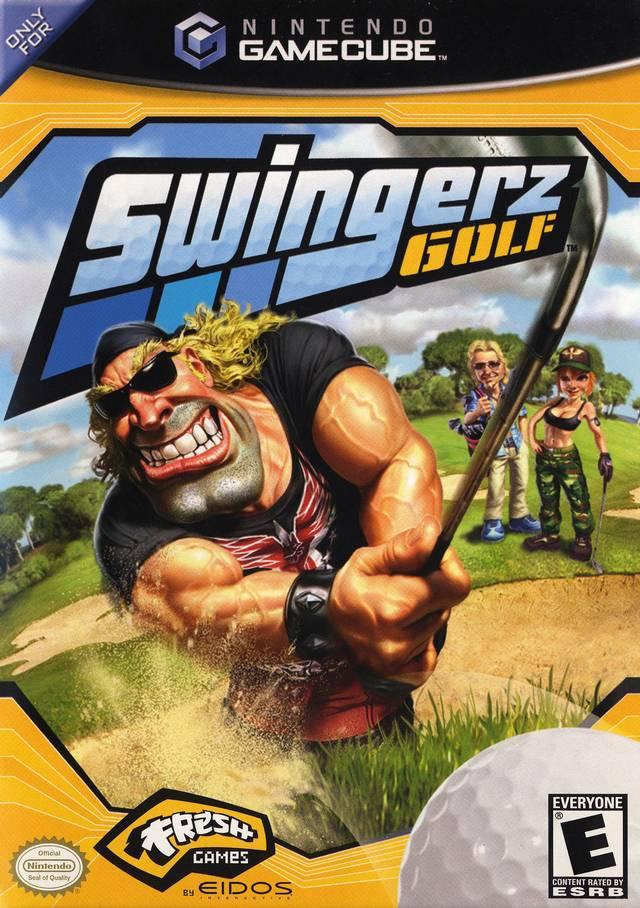 Swingerz Golf Gamecube Game