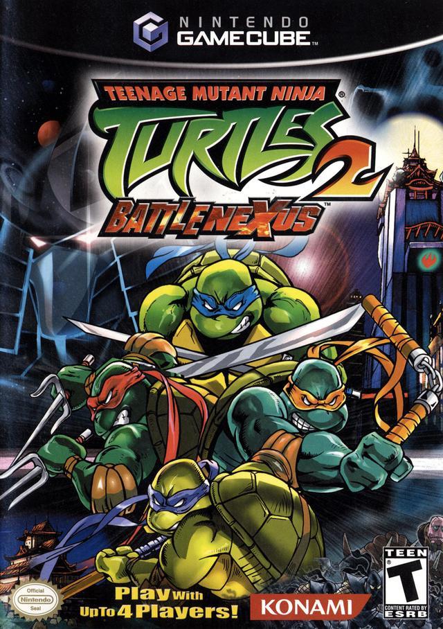 Teenage Mutant Ninja Turtles 2 Gamecube Game