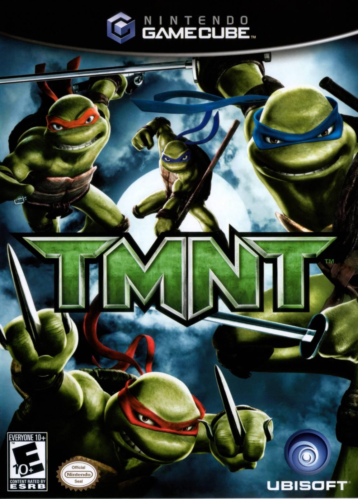 TMNT Gamecube Game