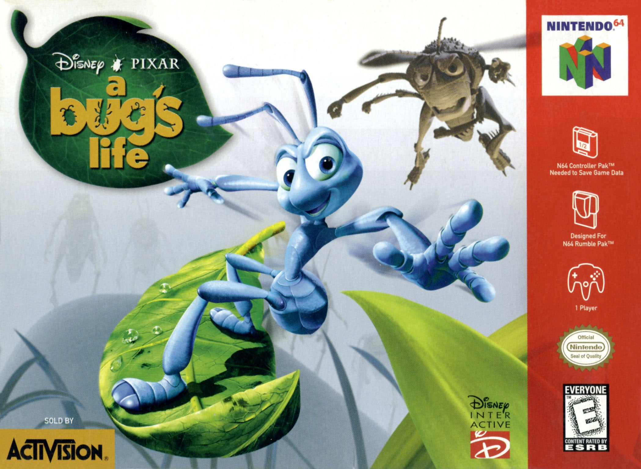 A Bugs Life Nintendo 64 Game