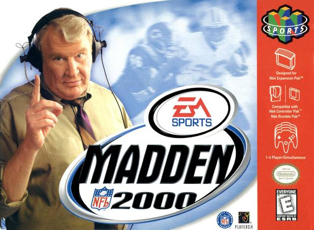 Madden 2000 Nintendo 64 Game