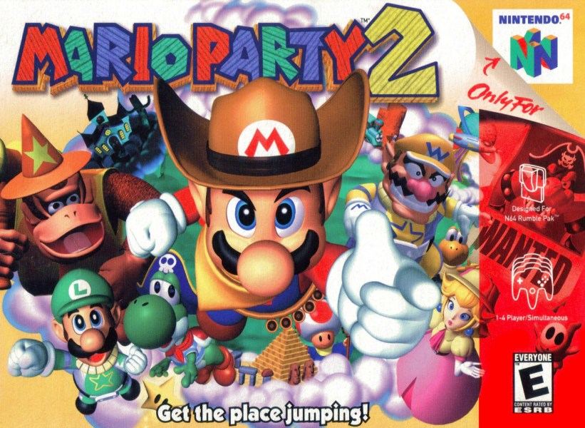 Mario Party 2 Nintendo 64 Game Mario Party 2 Thumbnail