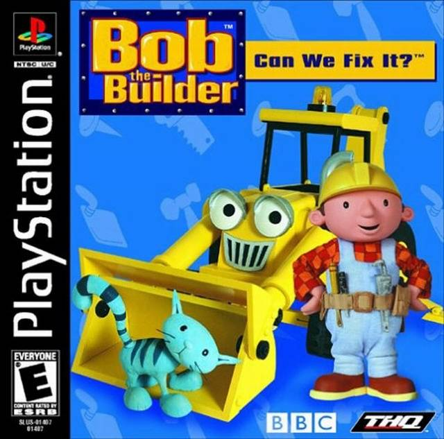 Bob The Builder Can We Fix It Sony Playstation