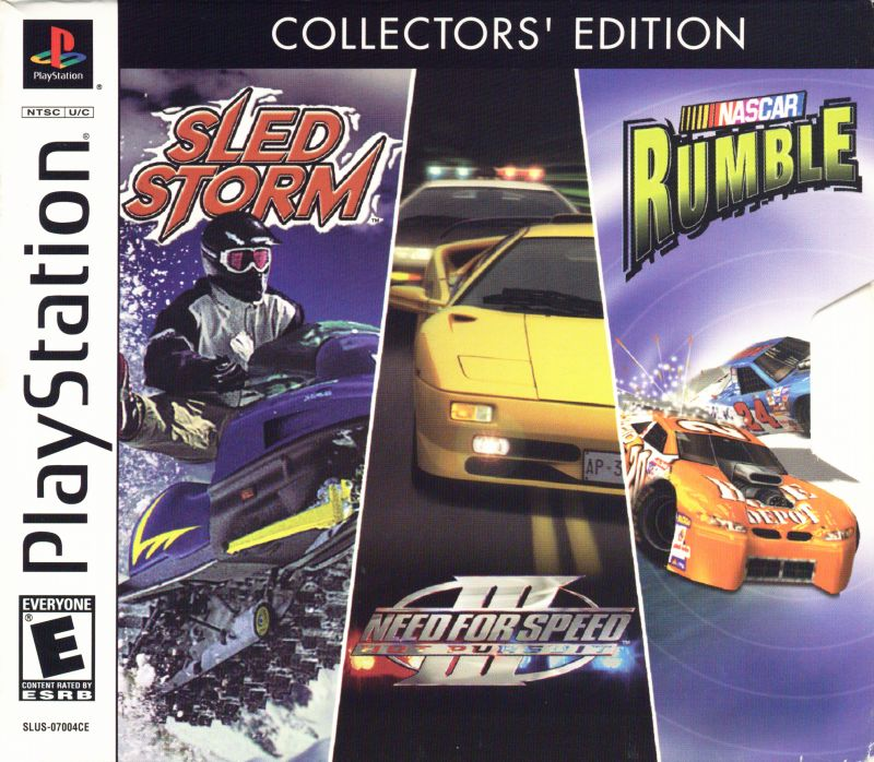 EA Racing Pack Collectors Edition Sony Playstation