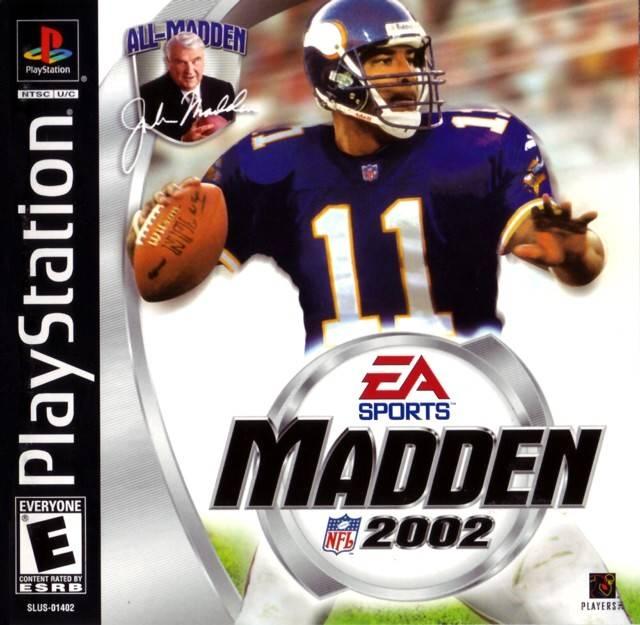 Madden 2002 Sony Playstation