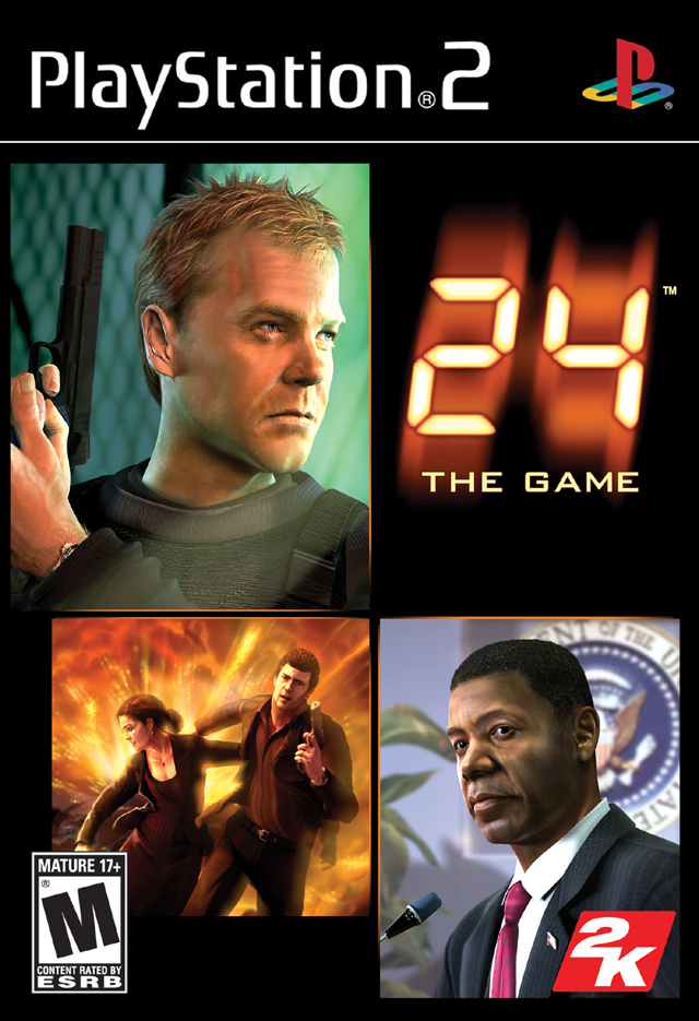 24 The Game Sony Playstation 2 Game