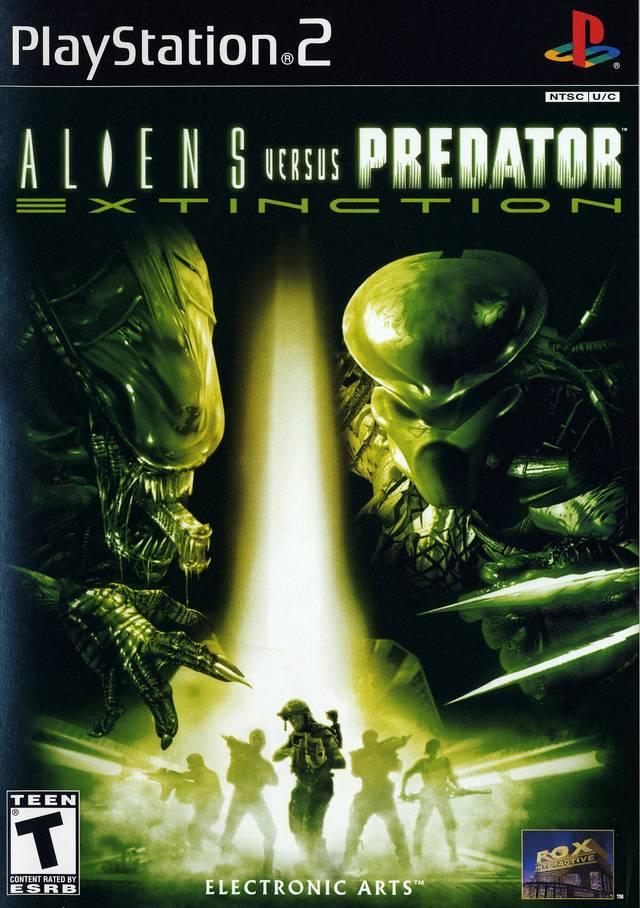 Aliens Vs Predator Extinction Sony Playstation 2 Game