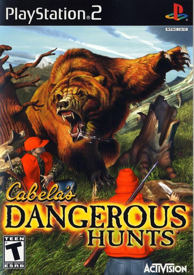 Cabelas Dangerous Hunts Sony Playstation 2 Game