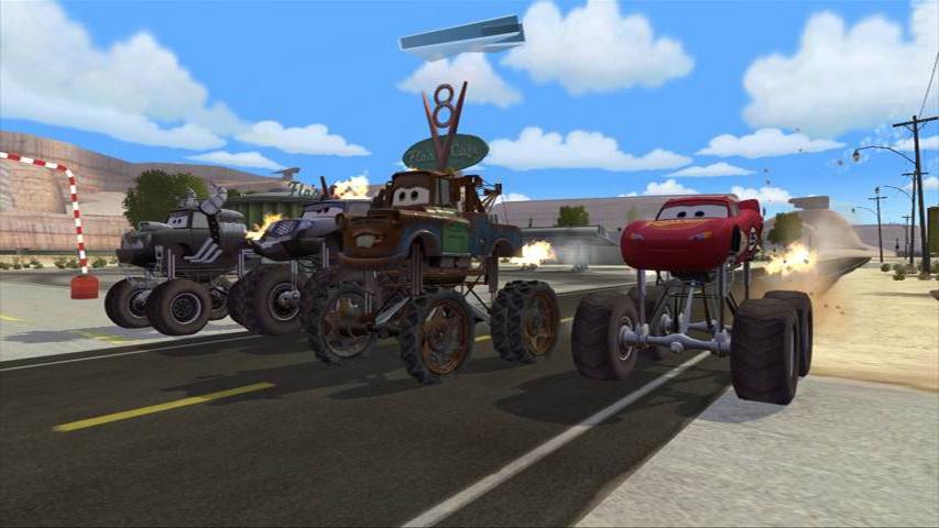 Cars Mater National Championship Ps2