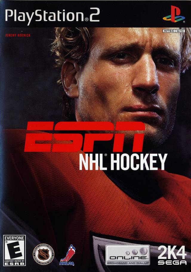 ESPN Hockey 2004 Sony Playstation 2 Game
