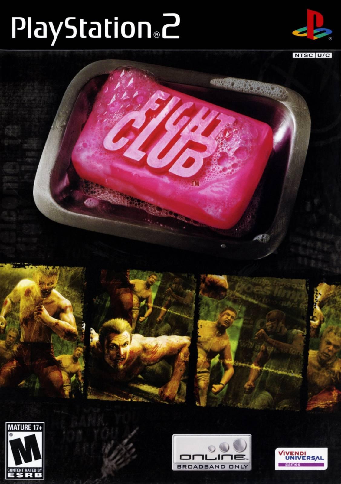 Fight Club Sony Playstation 2 Game