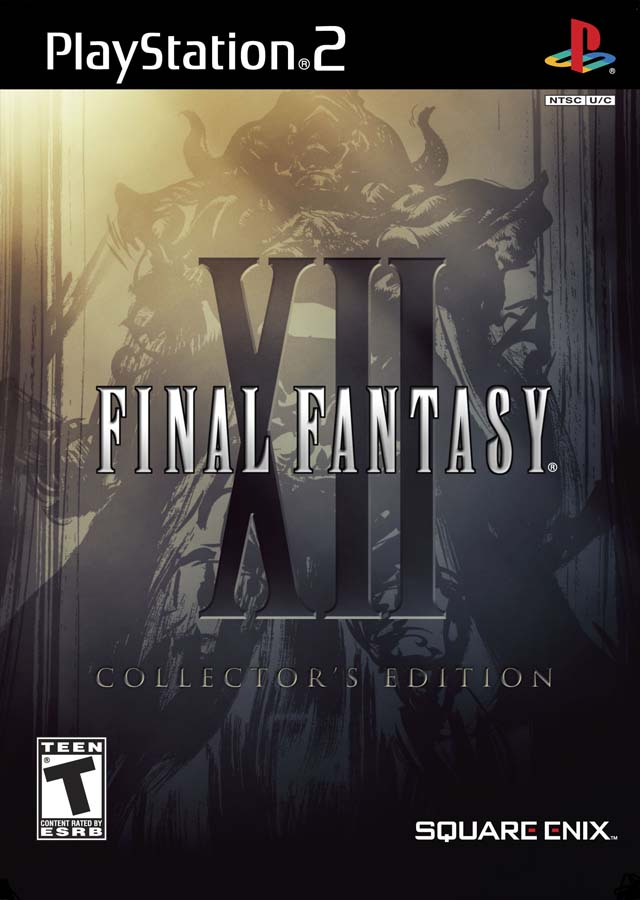 Final Fantasy XII Collectors Edition Sony Playstation 2 Game