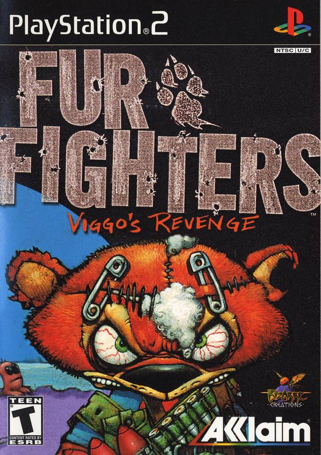 Fur Fighters Viggos Revenge Sony Playstation 2 Game