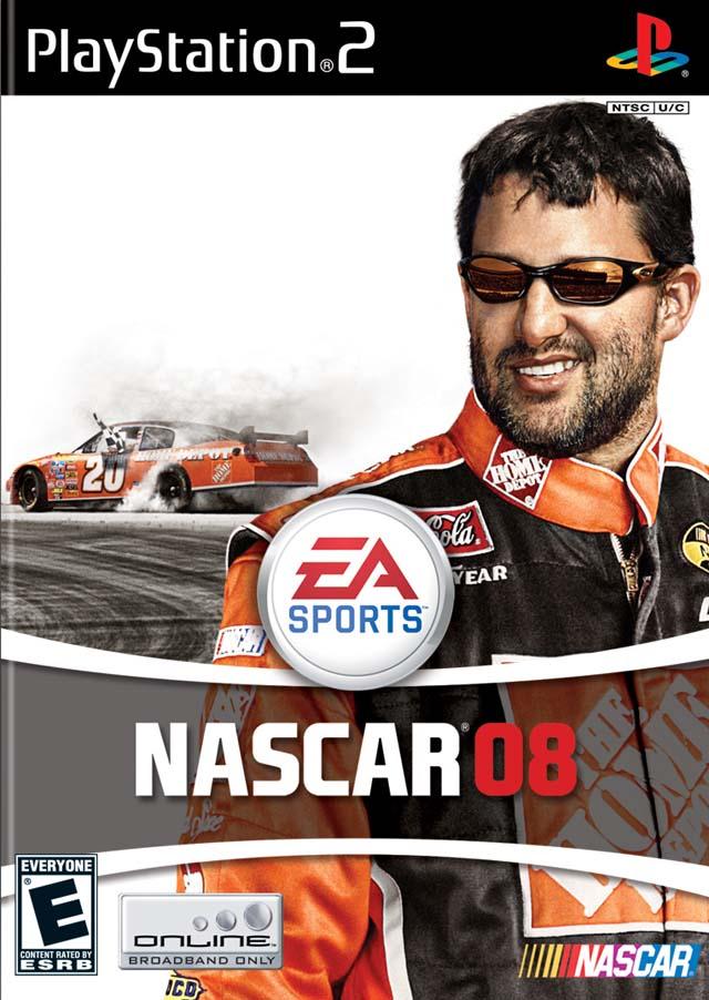 NASCAR 08 Sony Playstation 2 Game