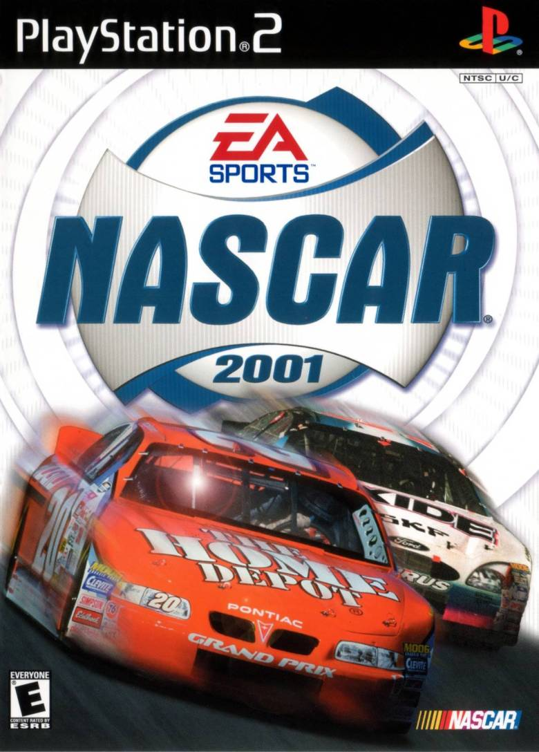 NASCAR 2001 Sony Playstation 2 Game