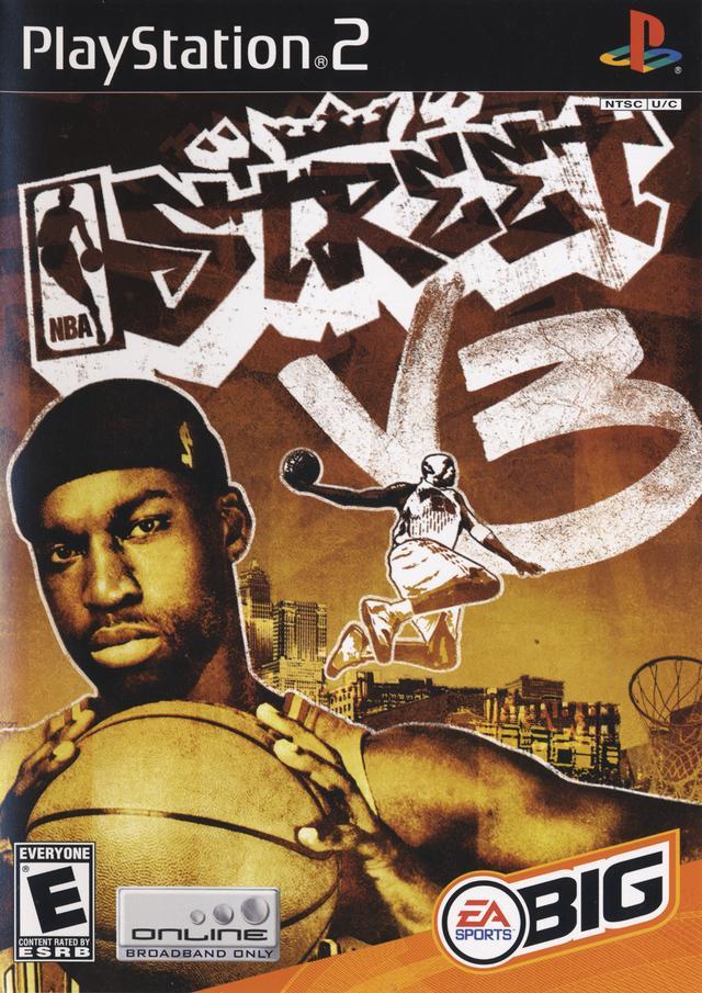 NBA Street Vol 3 Sony Playstation 2 Game
