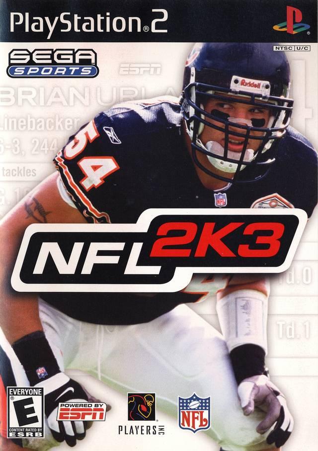 NFL 2K3 Sony Playstation 2 Game