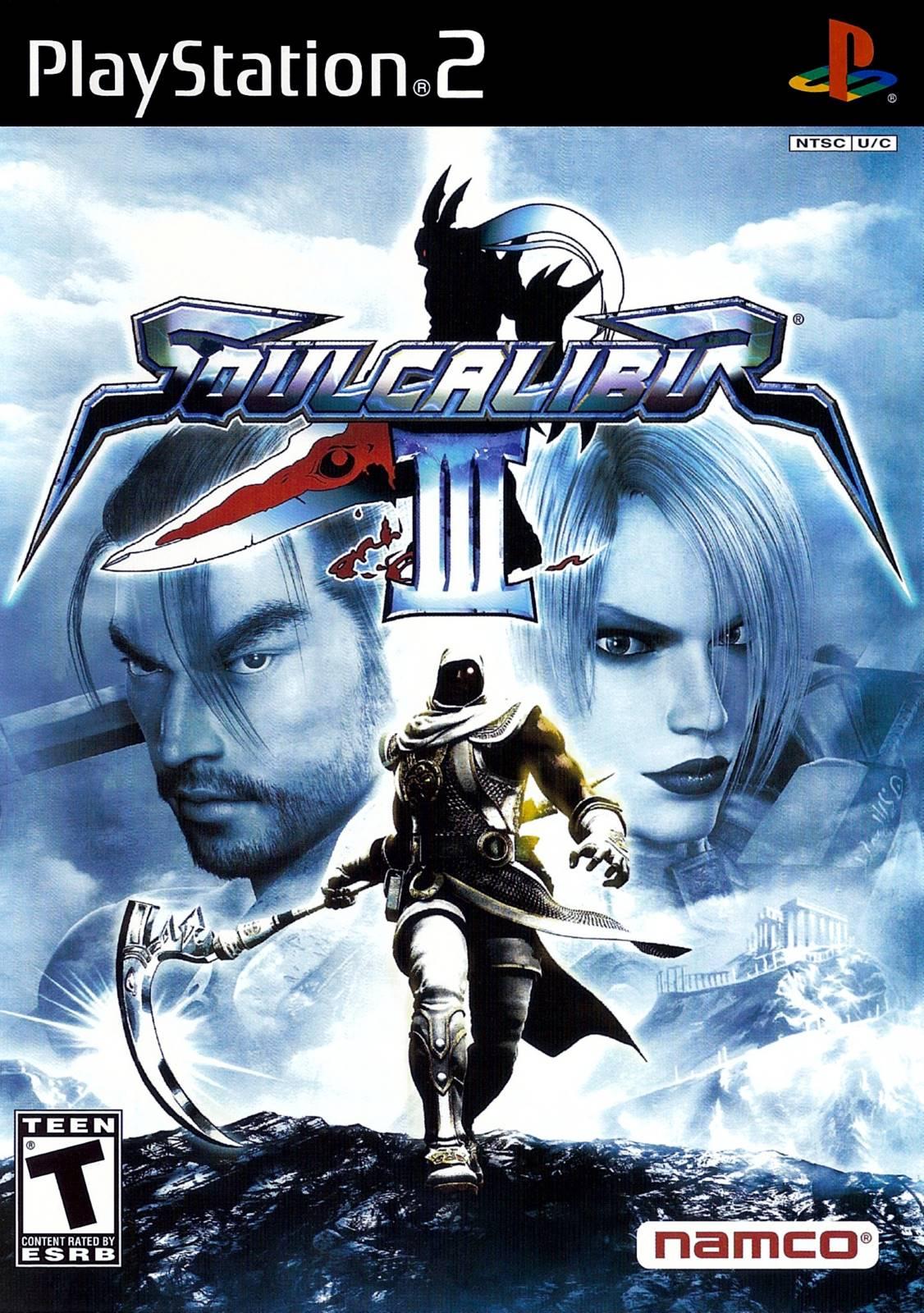Soul Calibur 3 Sony Playstation 2 Game