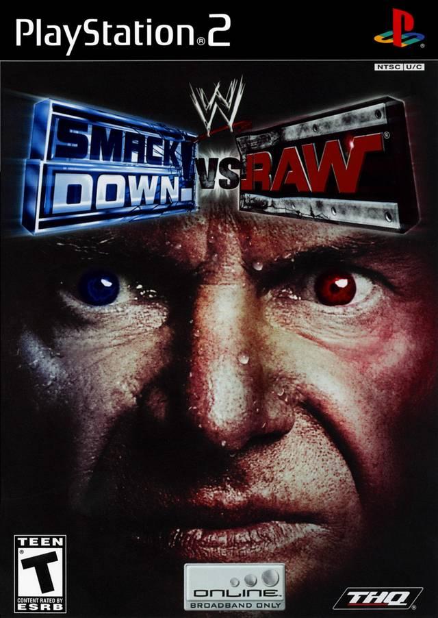 WWE Smackdown Vs Raw Sony Playstation 2 Game