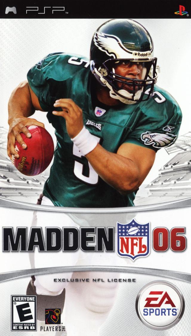 Madden NFL 2006 PSP Game