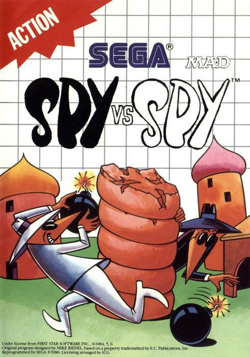 Spy Vs Spy Sega Master System Game