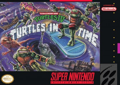Image result for turtles in time snes
