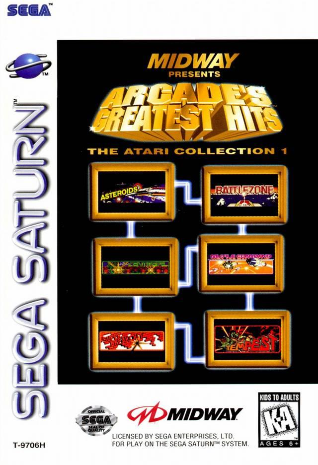 Arcades Greatest Hits Atari Collection Sega Saturn Game