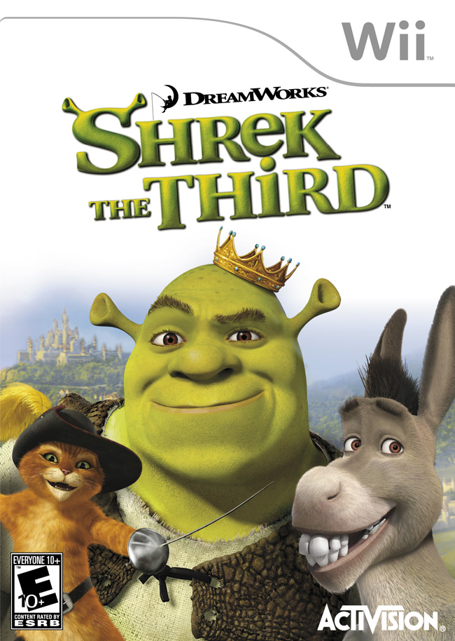 Shrek The Third Nintendo WII Game