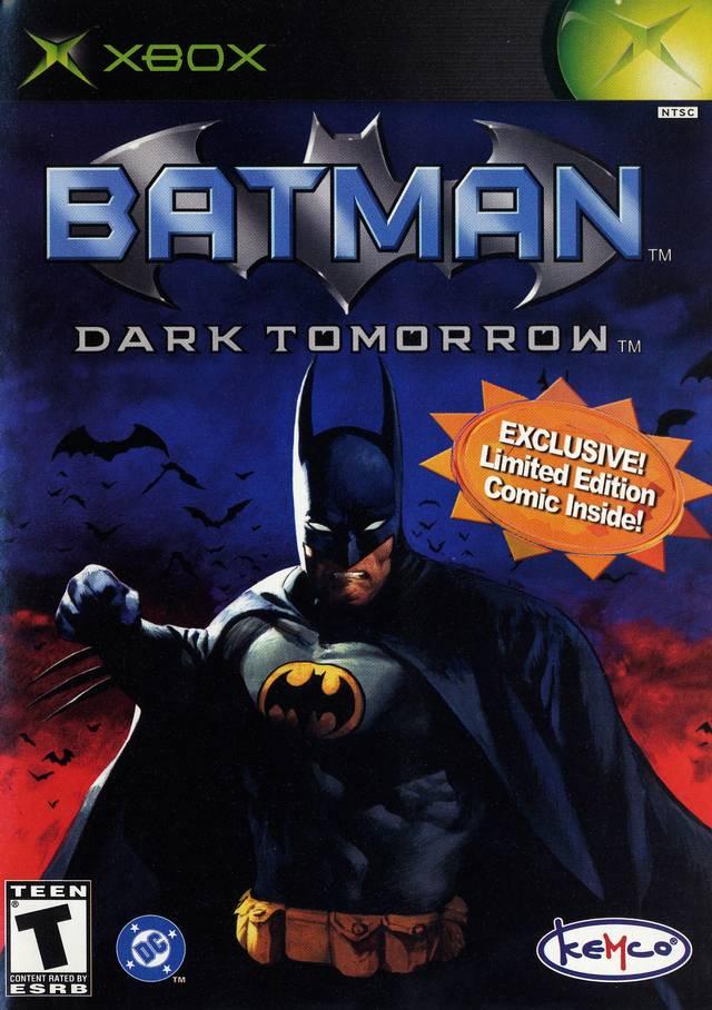 Batman Dark Tomorrow Xbox