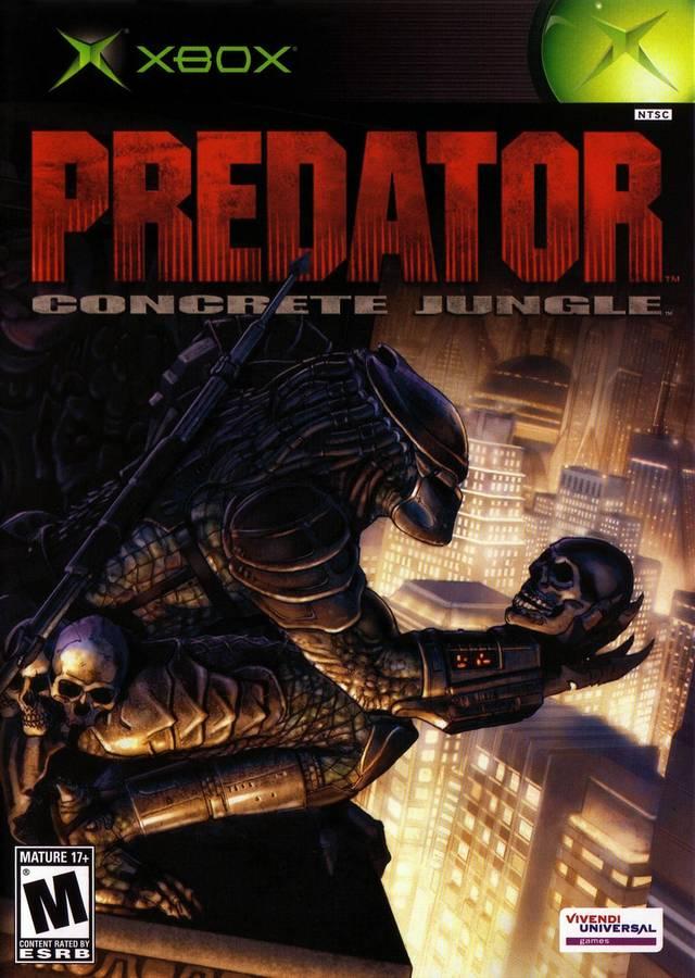 Predator Concrete Jungle Xbox