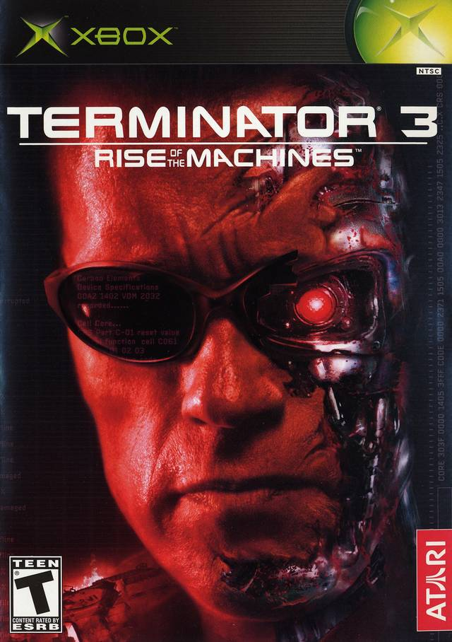 Terminator 3 Rise Of The Machines Xbox