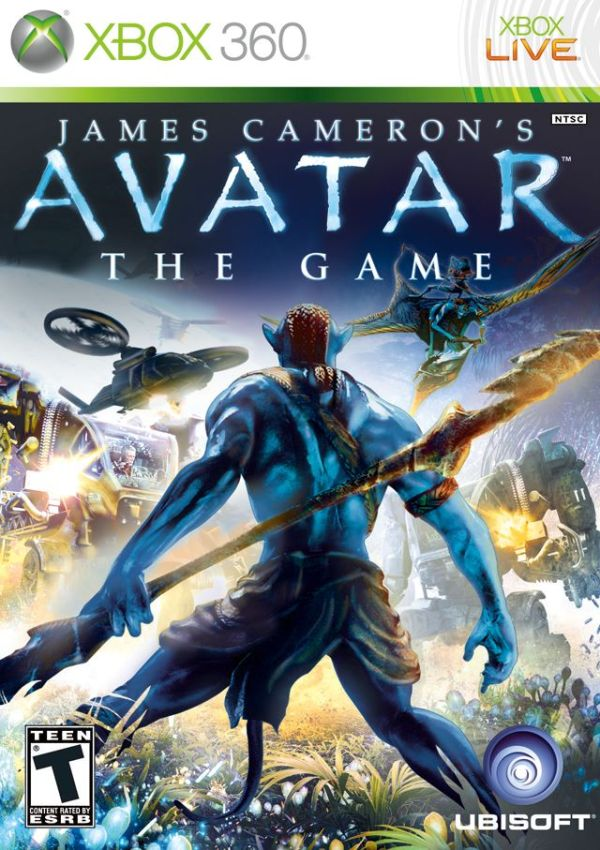 Avatar The Game Xbox 360 Game