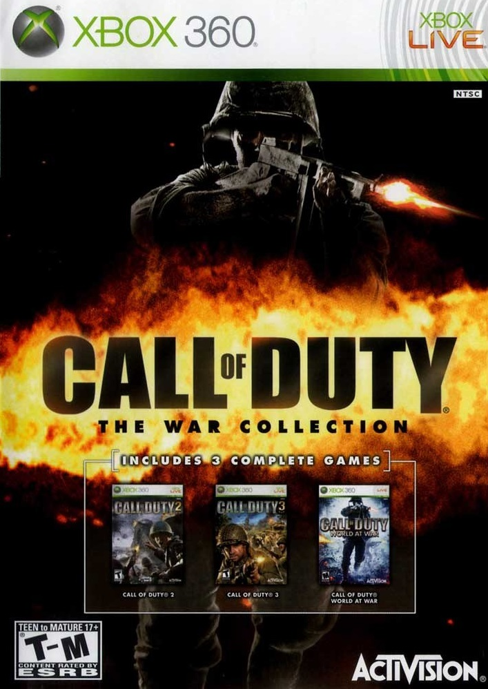 Call Of Duty The War Collection Xbox 360 Game