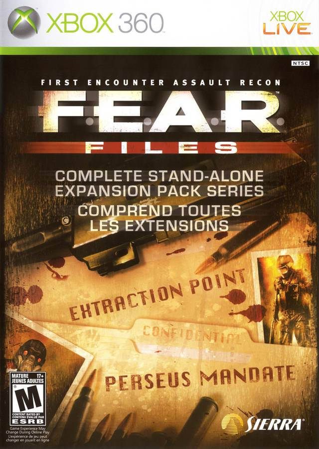 FEAR Files Xbox 360 Game
