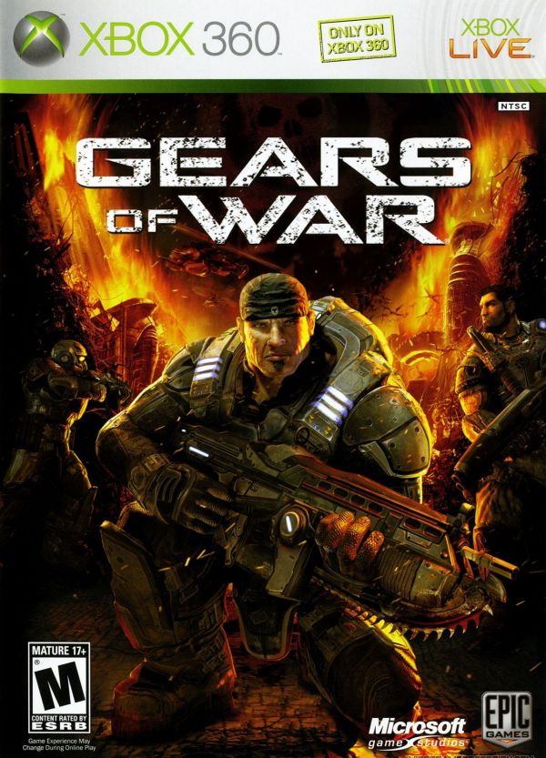 Gears of War Xbox 360 Game