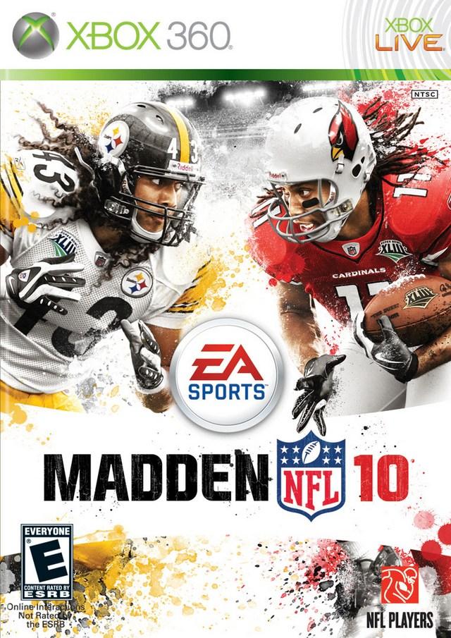 Madden NFL 10 Xbox 360 Game