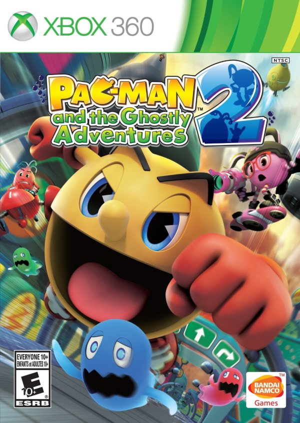 Pac-Man and the Ghostly Adventures 2 Xbox 360 game