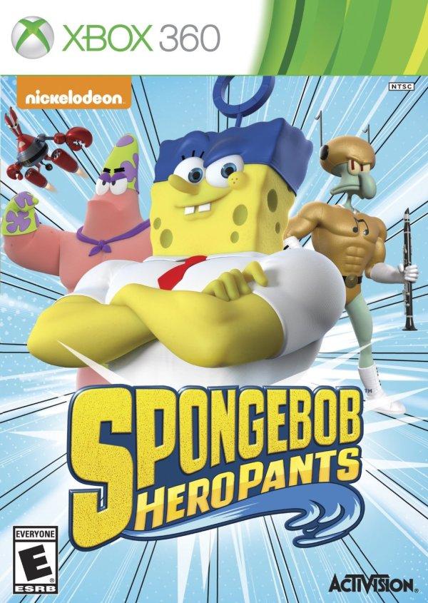SpongeBob HeroPants Xbox 360 game
