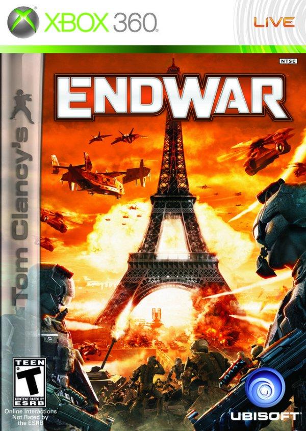 Tom Clancys End War Xbox 360 Game