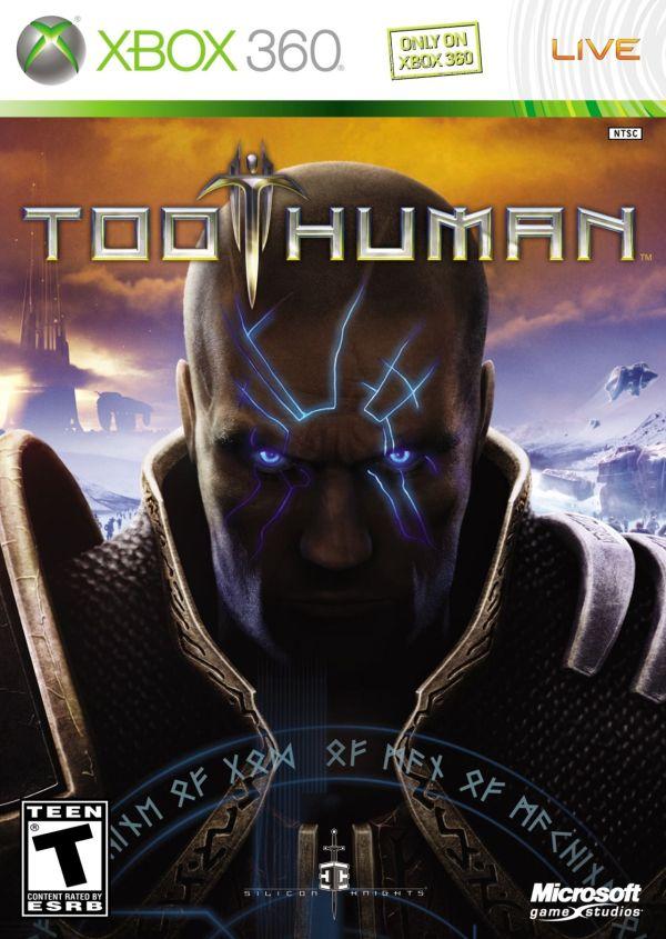 Too Human Xbox 360 Game