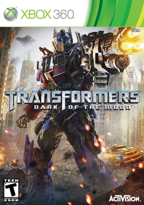 X360 Transformers: Dark of the Moon Xbox 360 game