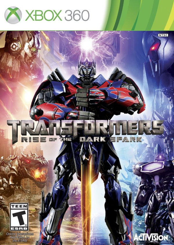 Transformers Rise of the Dark Spark Xbox 360 game