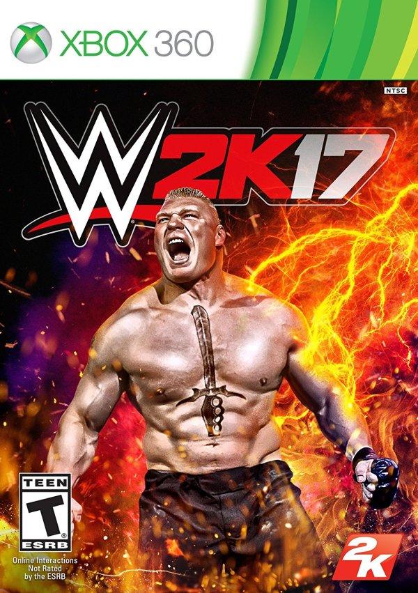 WWE 2K17 Microsoft Xbox 360 Game