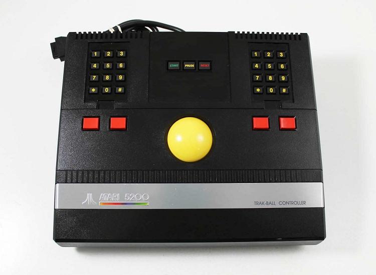Atari 5200 Track Ball Controller