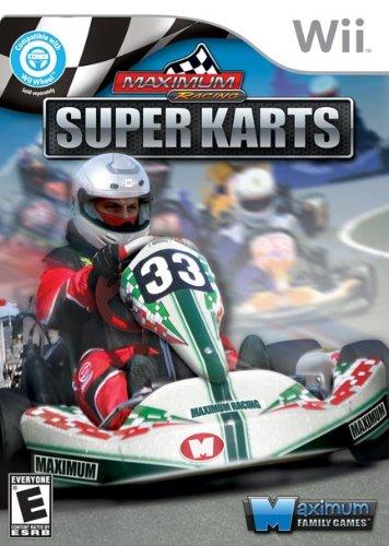 Maximum Racing Super Karts Nintendo Wii Game
