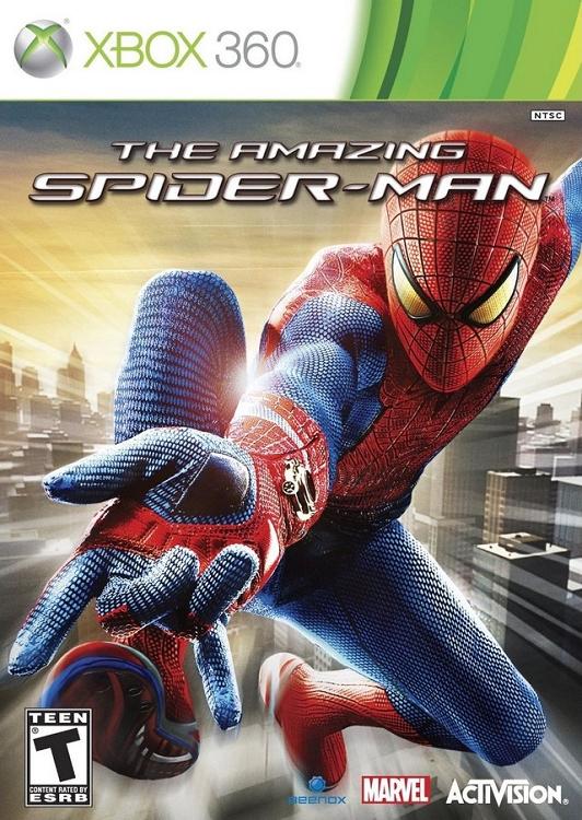 Amazing Spiderman Xbox 360 Game