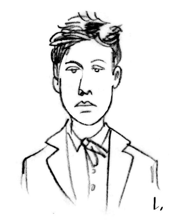 Le jeune Arthur Rimbaud